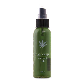 Pharma Quests Cannabis Massageolie - 100ml