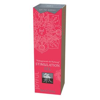 Shiatsu Stimulation Gel - Pomegranate & Nutmeg