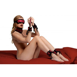 Frisky Red Dragon Bondage Set