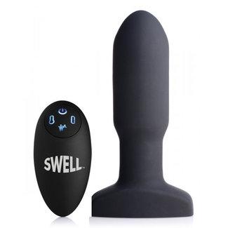 Swell Opblaasbare en Vibrerende Missile Buttplug