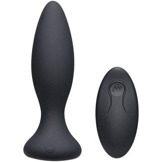A-Play Vibe Beginner Vibrerende Buttplug - Zwart