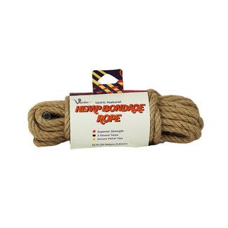 Voodoo 100% Natural Hemp Bondage Touw - 10 Meter