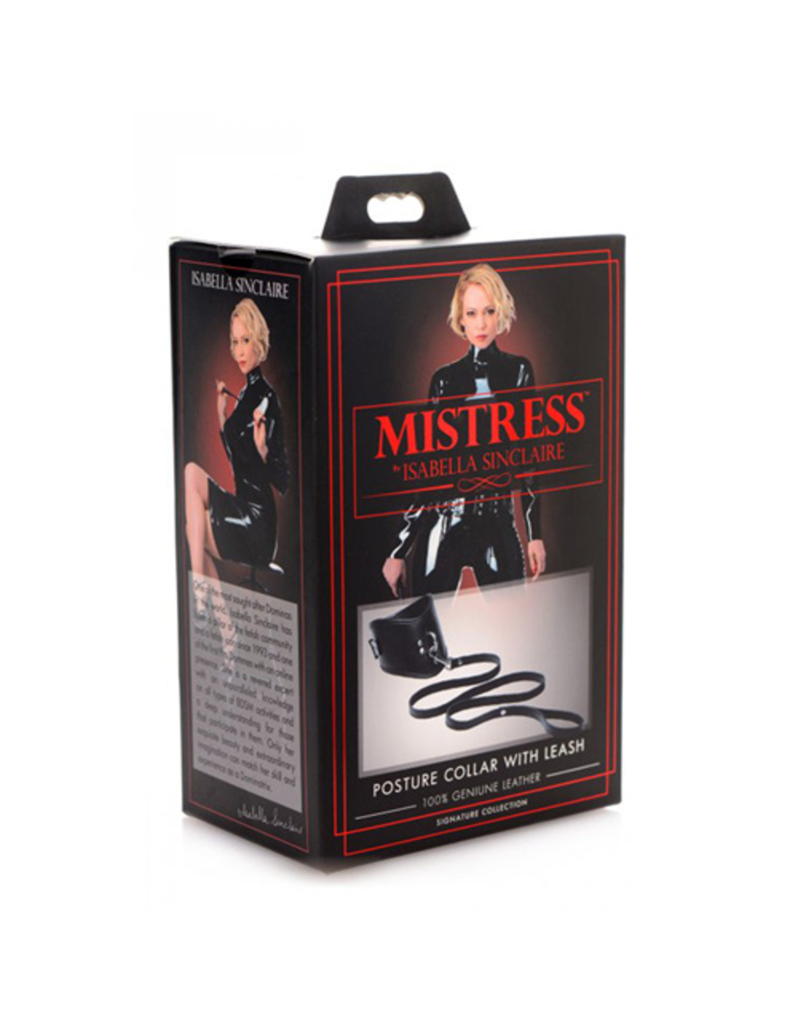 Mistress by Isabella Sinclaire Isabella Sinclaire Halsband Met Riem