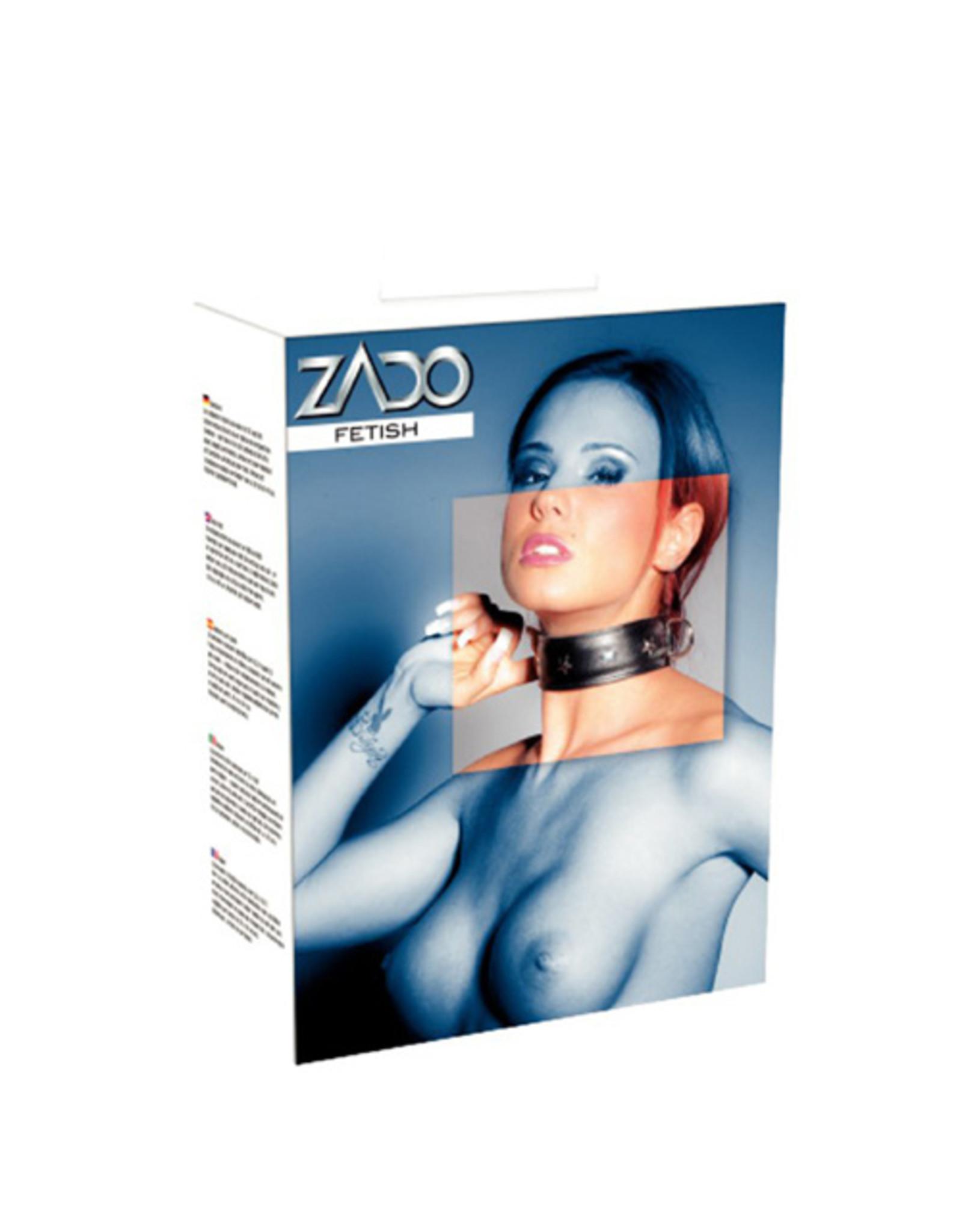 Zado Leren Halsband Met Studs