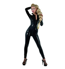 The Latex Collection Latex Catsuit Met Ritsen