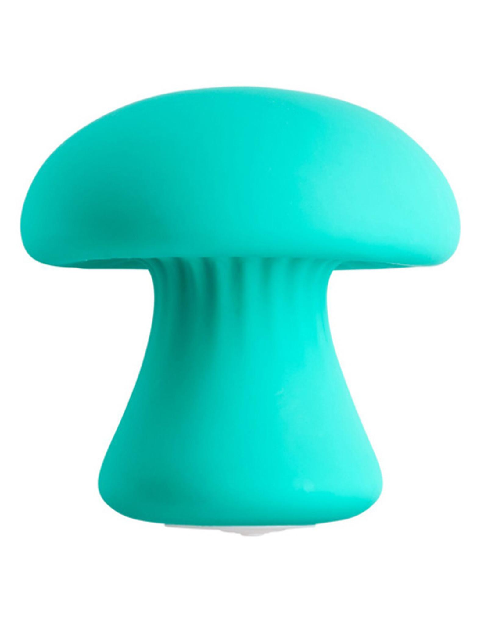 Cloud 9 Mushroom Massager - Groenblauw