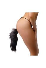 Frisky Grey Fox Tail Buttplug