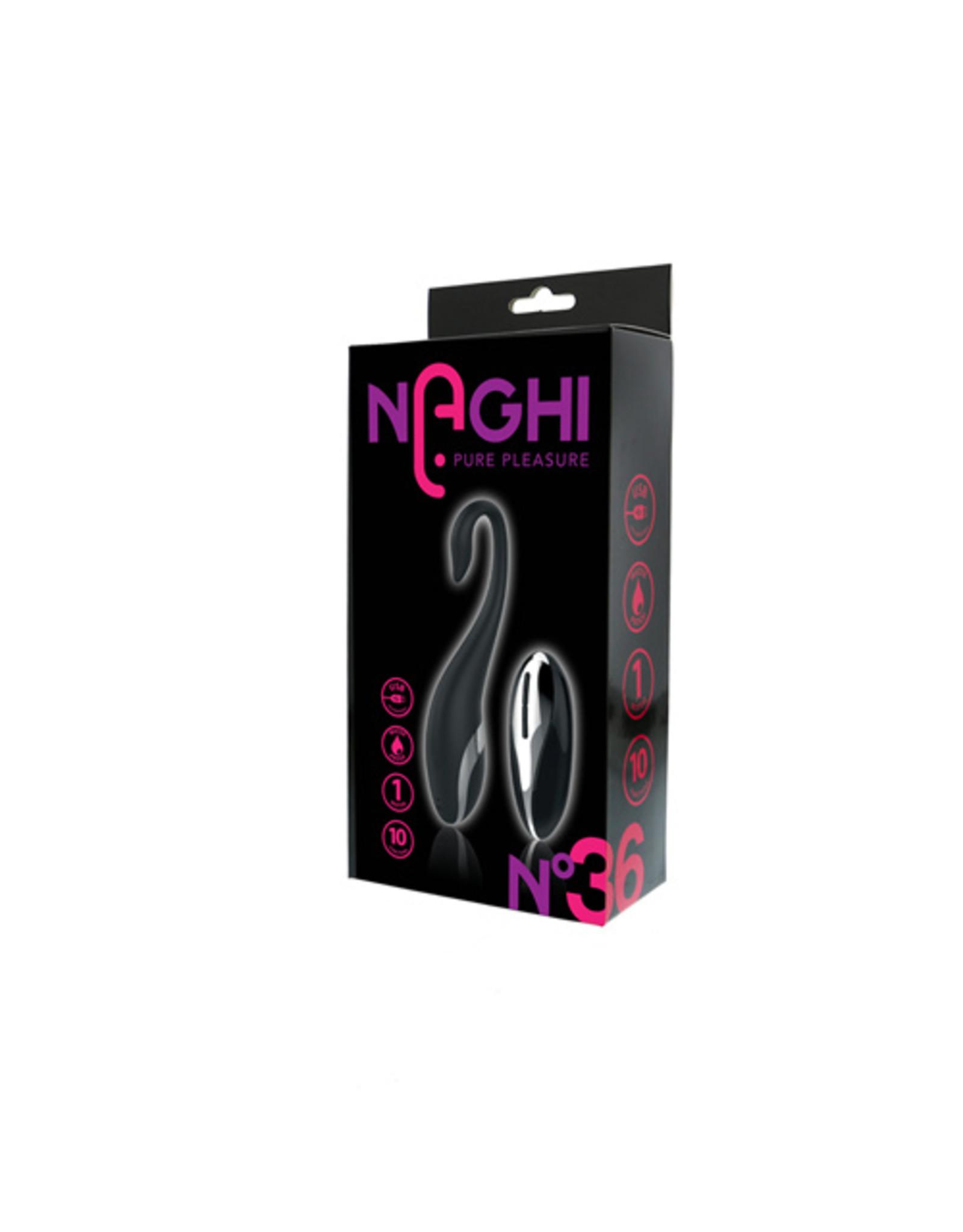 Naghi Naghi No.36 - Vibrerend Eitje met Afstandsbediening