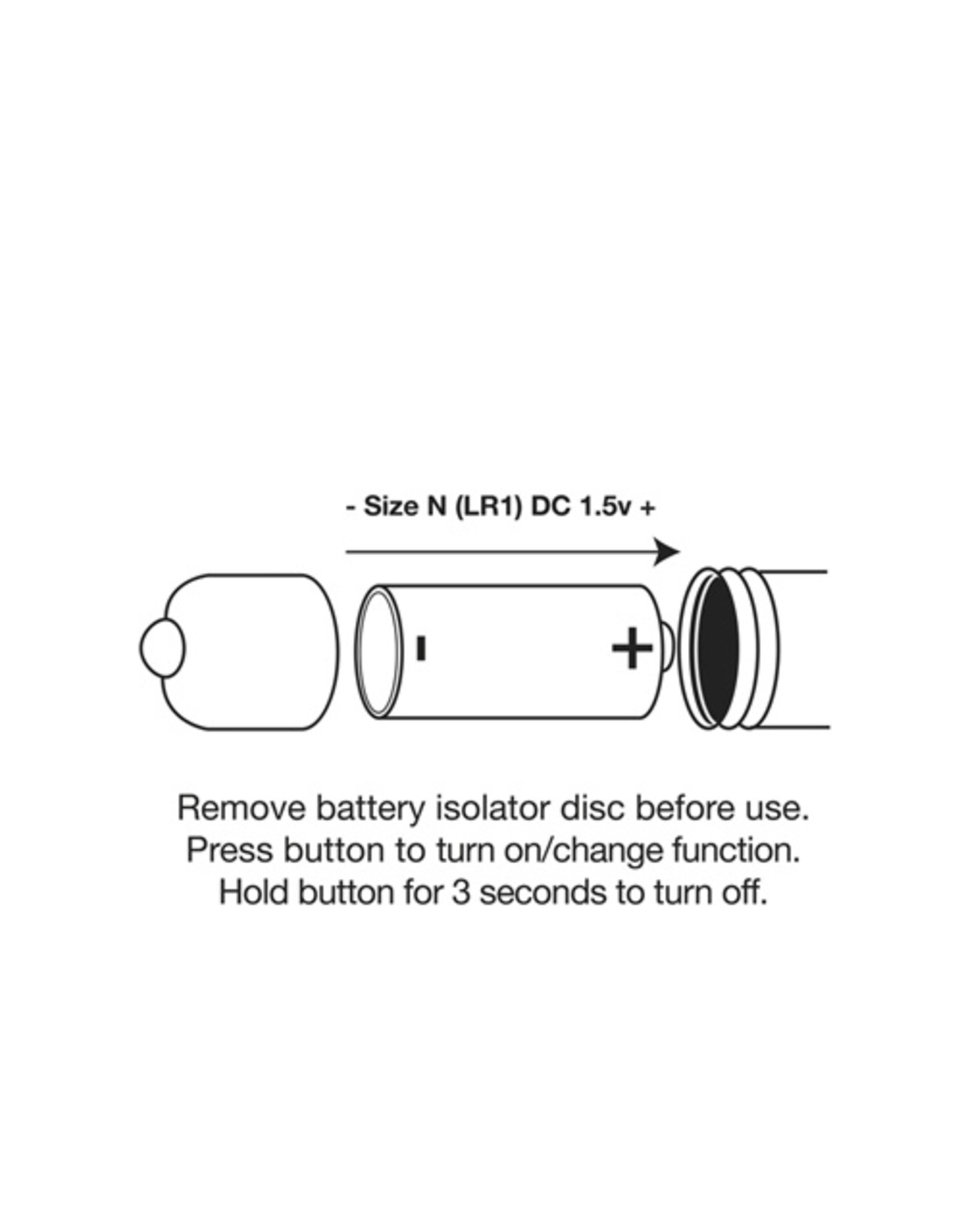 Rocks Off Kama Bullet Vibrator