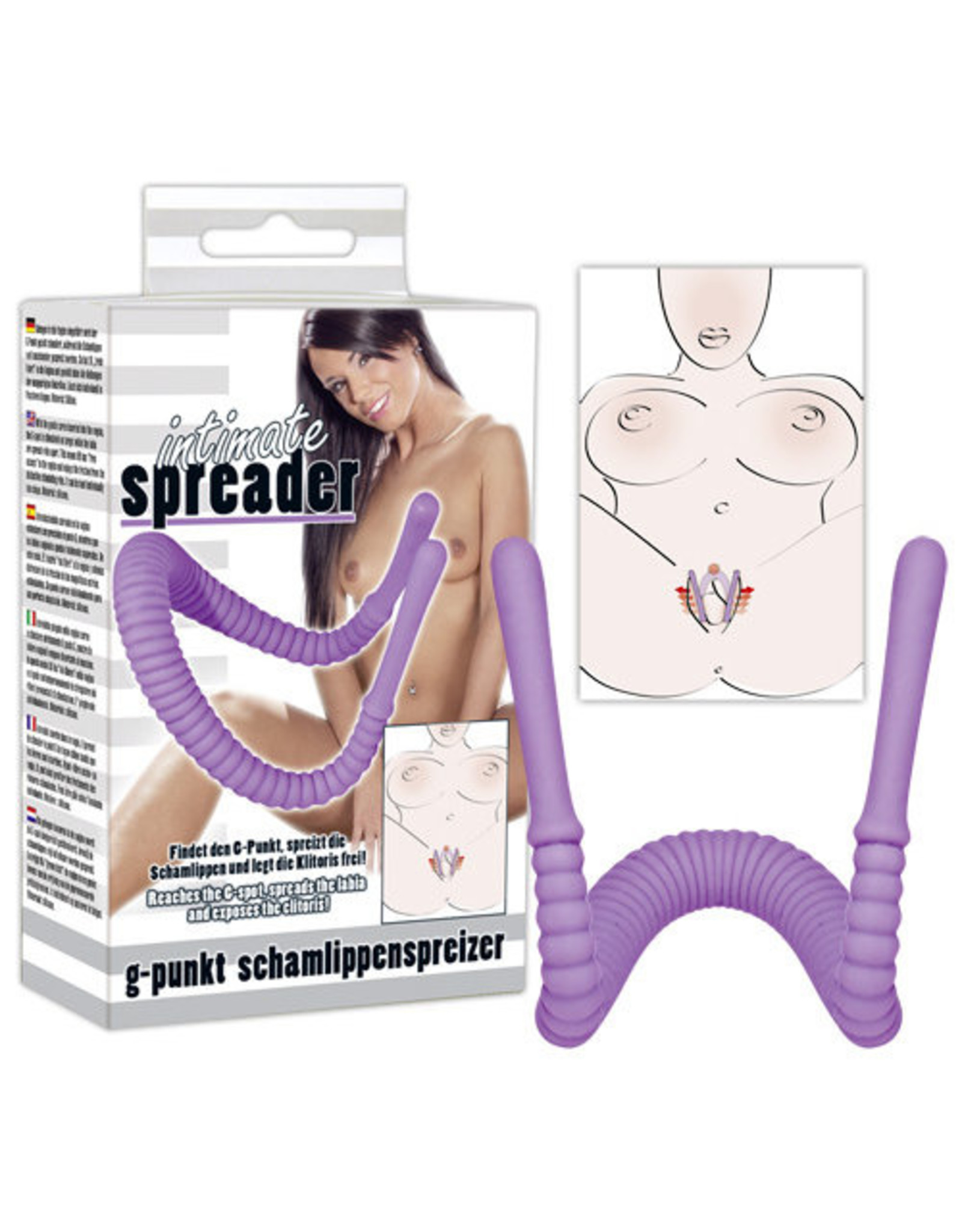 You2Toys Intimate Spreader Lila
