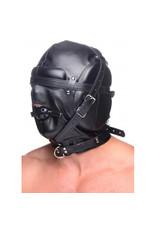 Strict Bondage Masker Met Ball Gag Met Gaten