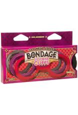 Japanese Bondage Japanese Bondage Siliconen Handboeien - Zwart