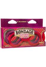 Japanese Bondage Japanese Bondage Siliconen Handboeien - Rood