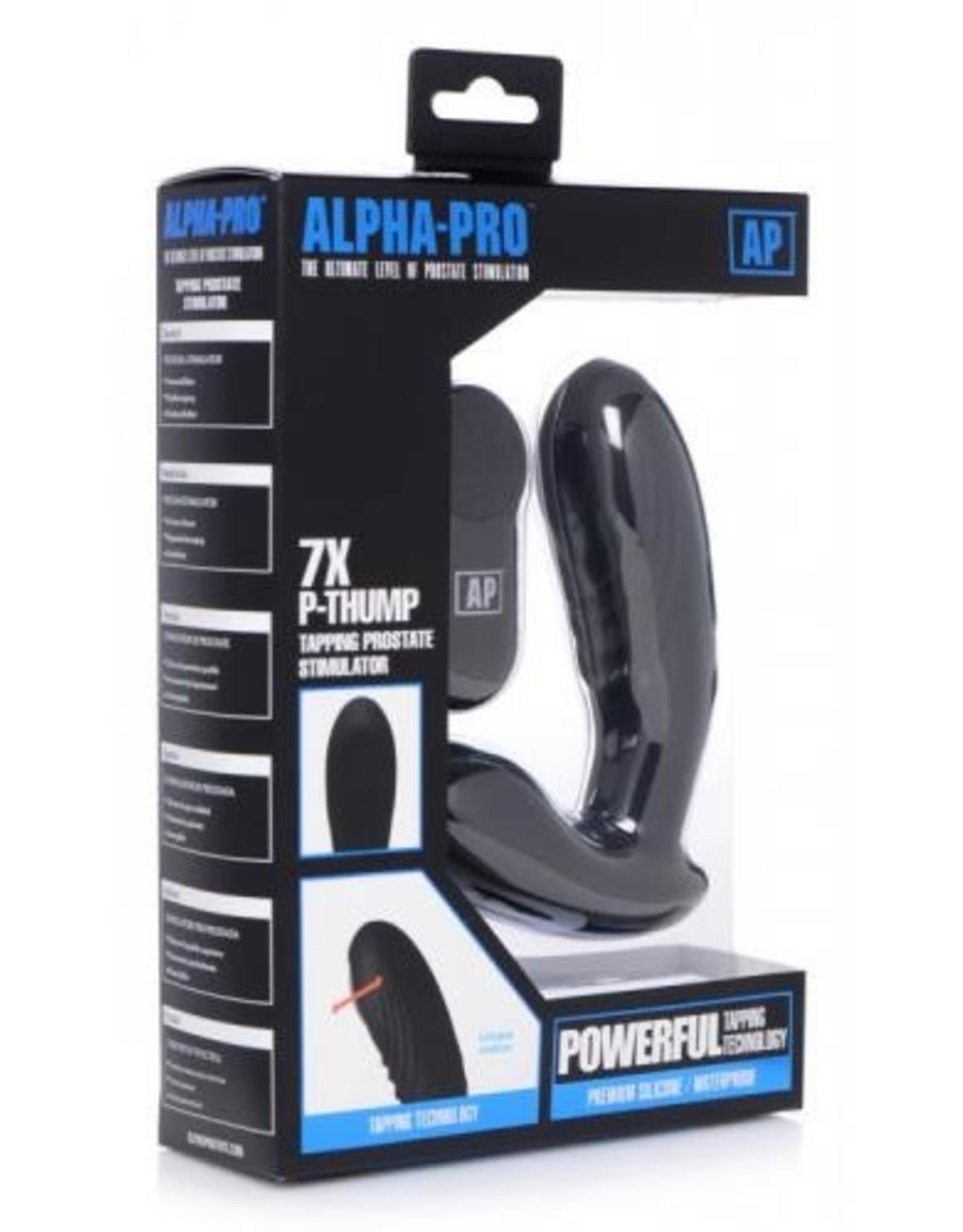 Alpha-Pro P-Thump Prostaat Vibrator Met Afstandsbediening