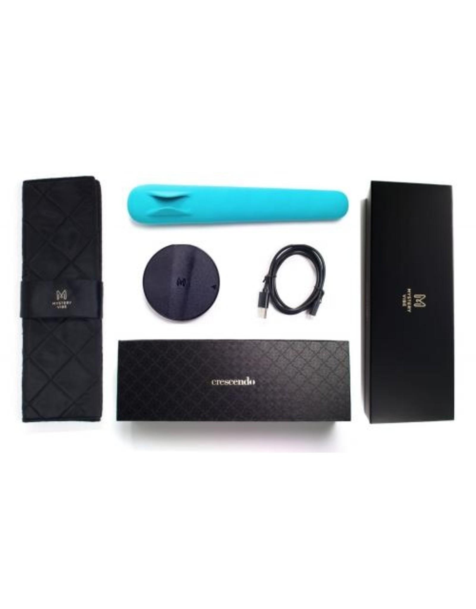 Mysteryvibe Crescendo Buigzame G-Spot Vibrator - Aqua