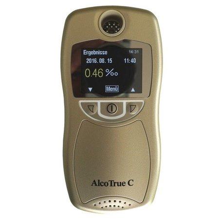 AlcoTrue® AlcoTrue® C, nauwkeurige alcoholtester voor persoonlijk gebruik!