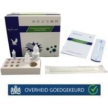 Corona sneltest Antigeen neus  vanaf 20 stuks (staffelkorting) €14,95 p/s Ex BTW