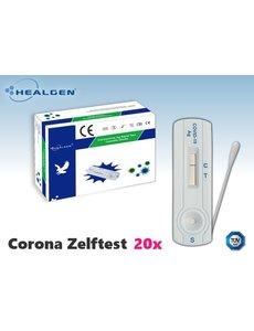 Healgen Corona zelftest voor thuis (20 stuks)