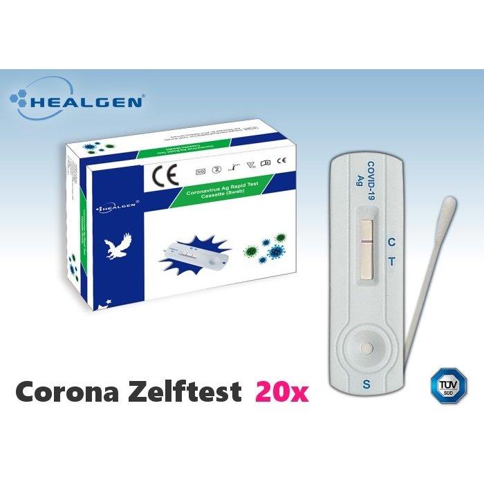 Healgen Corona zelftest (thuis test)