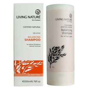 Living Nature Balancing Shampoo 200ml