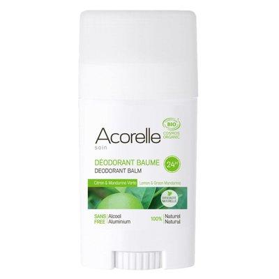 Acorelle Deodorant Balsem Citroen & Groene Mandarijn 40g