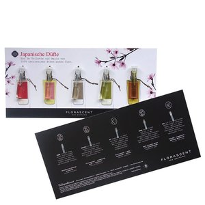 Florascent Sample Set Japanse Eco Parfums 5x0.5ml