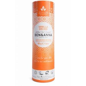 BEN&ANNA Deodorant Stick Papertube Vanilla Orchid 60g