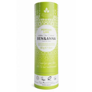 BEN&ANNA Deodorant Stick Papertube Persian Lime 60g