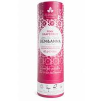 BEN&ANNA Deodorant Stick Papertube Pink Grapefruit 60g
