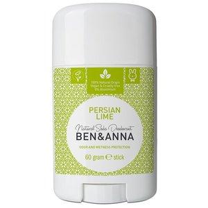 BEN&ANNA Natural Soda Deodorant Stick Persian Lime 60g