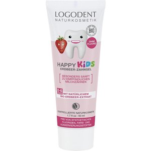 Logona Happy Kids Aardbei Tandpasta 50ml