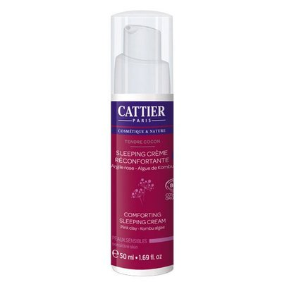 Cattier Kalmerende Nachtcrème Tendre Cocon 50ml