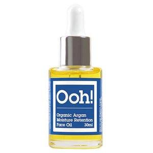 Ooh! Organic Argan Moisture Retention Face Oil 15ml of 30ml