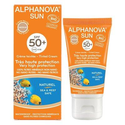 Alphanova SUN Bio Getinte Crème SPF50+ 50g