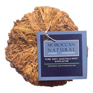 Moroccan Natural Sago Palm Root Exfoliator