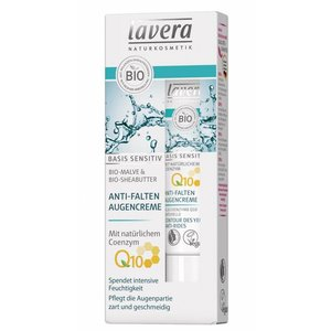 Lavera Basis Sensitiv Anti-Ageing Eye Cream Q10 15ml