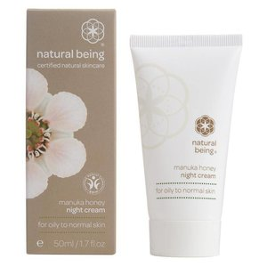 Natural Being Manuka Nachtcrème Normale tot Vette Huid 50ml