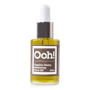 Ooh! Organic Hemp Balancing Face Oil 15ml of 30ml