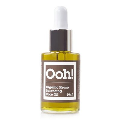 Ooh! Organic Hemp Balancing Face Oil 15ml of 30ml