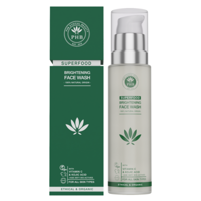 PHB Ethical Beauty Superfood Brightening Face Wash 100ml