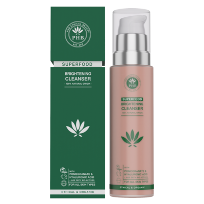 PHB Ethical Beauty Superfood Brightening Cleanser 100ml