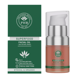 PHB Ethical Beauty Superfood Facial Oil 20ml