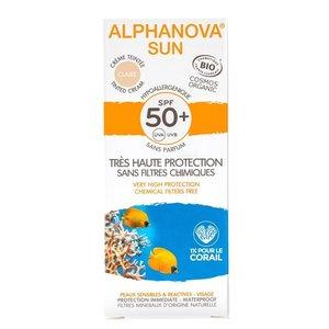 Alphanova SUN Bio Hypoallergeen Getinte Crème SPF50+ 50g