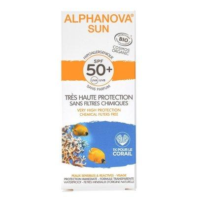 Alphanova SUN Bio Hypoallergeen Crème SPF50+ 50g