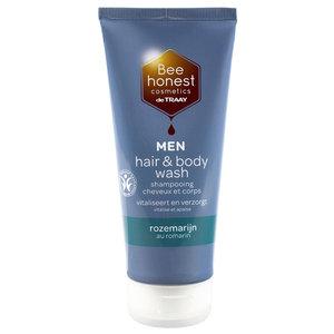 De Traay Bee Honest MEN Hair & Body Wash Rozemarijn 200ml