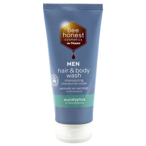 Bee Honest MEN Hair & Body Wash Eucalyptus 200ml