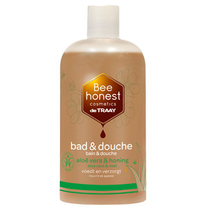 De Traay Bee Honest Bad & Douche Aloë Vera & Honing 250ml of 500ml