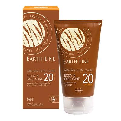 Earth-Line Argan Sun Care Face & Body SPF20 150ml