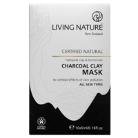 Living Nature Charcoal Clay Mask 10x5ml