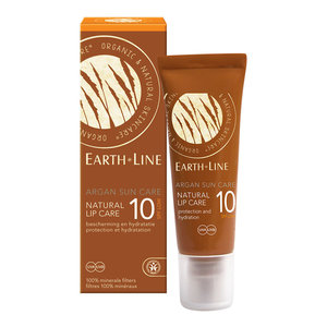 Earth-Line Argan Sun Care Natural Lip Care SPF10 10ml